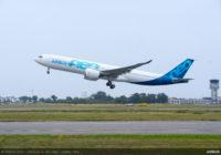 Airbus logra récord de entrega de aviones