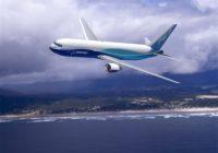Boeing cerró 2017 con 763 aviones entregados