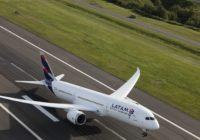Latam Airlines ahora conecta a Perú con Costa Rica