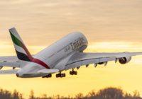 Las últimas noticias de la industria aérea global: Inyectan 2 mil millones de dólares a Emirates