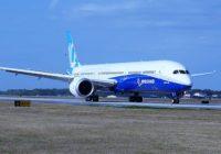 Boeing 787-10 Dreamliner con luz verde para volar