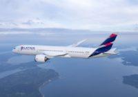 Tráfico de pasajeros de LATAM Airlines aumentó 1,9% en enero