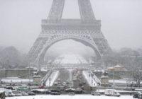 La nieve no le da tregua a Europa