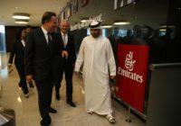 Panamá y Emirates retoman posibilidad de conexión aérea