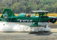 Con vuelos acrobáticos comenzó la Expo Aéreo Panamá 2018