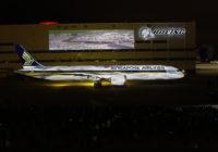 Boeing entrega el primer Dreamliner 787-10 a Singapore Airlines