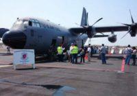 """Aviones """"caza huracanes"""" pisan suelo panameño"""