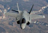 Presentan en Chile el avión de combate más moderno del mundo