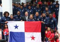 Panamá ganó la copa como la mejor bandera del Mundial