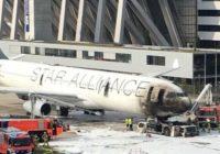 Se incendia avión de Lufthansa en Aeropuerto de Fráncfort