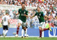 México 1 – Alemania 0 Conozca los resultados del 17 de junio