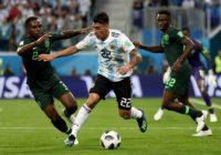 Argentina 2 – Nigeria 1. Vea los resultados del 26 de junio
