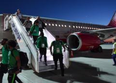 Avión del equipo de Arabia Saudita se accidentó en pleno vuelo