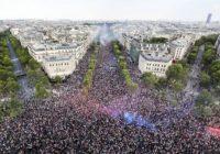 Francia de fiesta por su primer lugar en el Mundial Rusia 2018