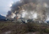 Accidente aéreo en Durango se debió al mal clima