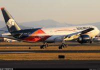 Aeroméxico retirará cinco aviones y suspenderá nueve rutas