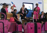 American Airlines se viste de rosado por la lucha contra el cáncer de mama