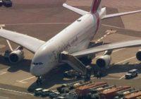Ponen en cuarentena a avión de Emirates en JFK