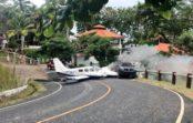 Avioneta con siglas venezolanas aterriza en calle de Isla Contadora