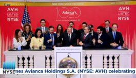 Avianca Holdings cumplió 5 años cotizando en la bolsa de NY