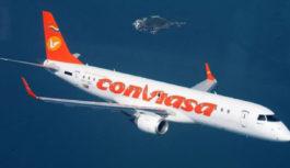 Departamento del Tesoro de Estados Unidos sanciona a la aerolínea Conviasa