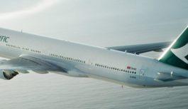 Cathay Pacific vendió por error boletos con 95% de descuento