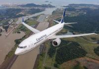 Copa Airlines galardonada como la aerolínea más puntual del mundo