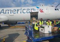American Airlines elegida como la mejor aerolínea de carga de América