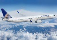 United Airlines extiende hasta el 3 de septiembre suspensión de vuelos de los 737 MAX