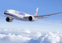 China Airlines selecciona los Boeing 777 para mejorar su flota de carga