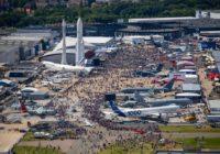 Culminó el París Air Show con más de 800 aviones negociados