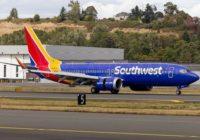 Southwest Airlines no volará los aviones 737 MAX hasta enero 2020