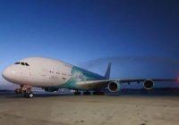 El avión más grande del mundo aterrizó en Venezuela