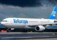 Air Europa aumenta el tráfico de pasajeros en un 14% en el primer semestre