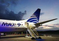 Autoridad de Aeronáutica Civil de Panamá deja sin efecto resolución que prohibió las operaciones de los 737 MAX, pero los aviones seguirán en tierra