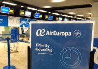 Air Europa amplía su servicio de facturación y embarque prioritarios a todos los aeropuertos