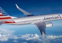 American Airlines extiende hasta el 2 de noviembre suspensión de vuelos de los 737 MAX