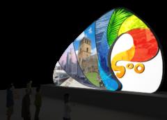 Con un espectáculo de luces ciudad de Panamá inicia la celebración de su cumpleaños