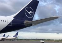 Lufthansa aterriza en Panamá con sus nuevos colores