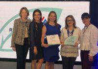 Copa galardonada con el  Reconocimiento Liderazgo Sostenible por AmCham