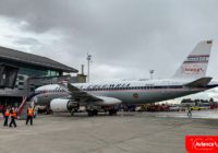 Avianca presentó avión conmemorativo por sus 100 años