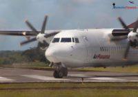 Se reanuda operación de un avión Fokker 50 de Air Panamá