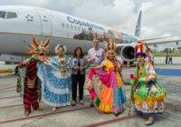 Con nueva imagen, avión de Copa Airlines promueve turismo en Panamá