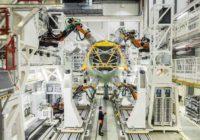 Así es la nueva línea de montaje de estructuras del A320 en Hamburgo