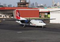 Suspenden temporalmente los vuelos de los aviones Fokker de Air Panamá
