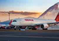 Por primera vez, Iberia aterriza en Ecuador con el Airbus A350
