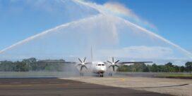 Así fue el reinicio de los vuelos nacionales en el Aeropuerto Internacional Enrique Malek de Chiriquí